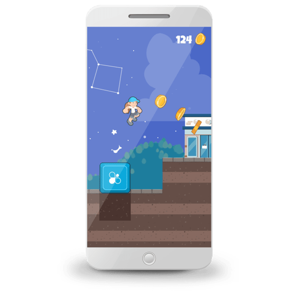 Instivity Advergames - Endless Runner