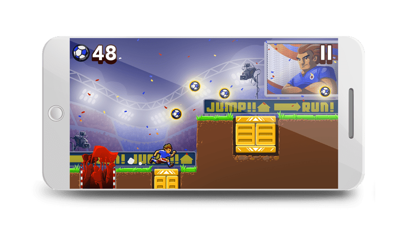 Endless Runner - Advergames for Football Clubs